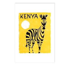 Kenya Travel Poster 1 Postcards (Package of 8)