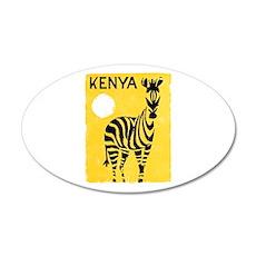 Kenya Travel Poster 1 Wall Decal