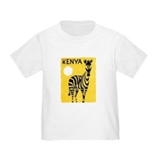 Kenya Travel Poster 1 T
