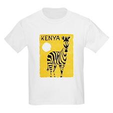 Kenya Travel Poster 1 T-Shirt
