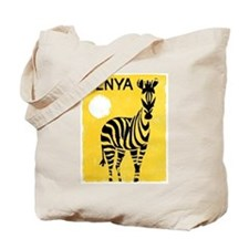 Kenya Travel Poster 1 Tote Bag