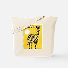 Kenya Travel Poster 1 Tote Bag