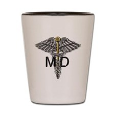 MD Symbol Shot Glass