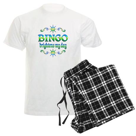 BINGO Brightens Men's Light Pajamas