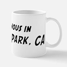 Famous in Alondra Park Mug