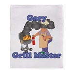 Grill Master Gary Throw Blanket