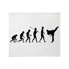 Martial Arts Throw Blanket