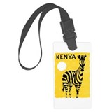 Kenya Luggage Tags