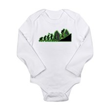 Mountain Biking Long Sleeve Infant Bodysuit
