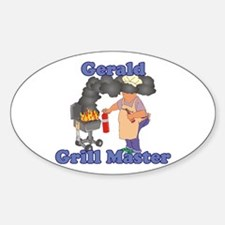 Grill Master Gerald Decal