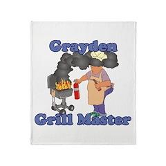 Grill Master Grayden Throw Blanket