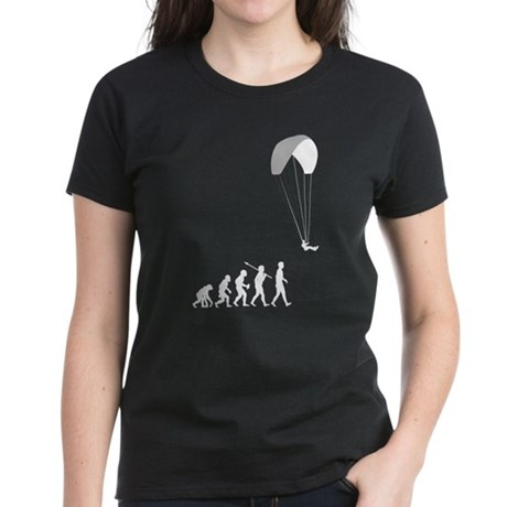 Paragliding Women's Dark T-Shirt