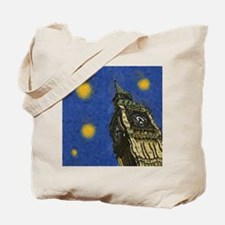 London Starry Night Tote Bag