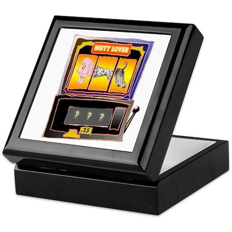 """Mutt Lover Slot Machine"" Keepsake Box"