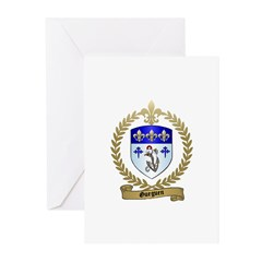 GUEGUEN Family Crest Greeting Cards (Pk of 10)