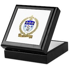 GUEGUEN Family Crest Keepsake Box