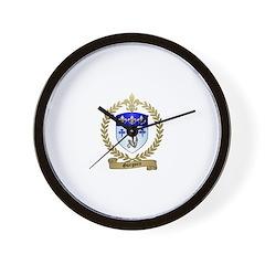 GUEGUEN Family Crest Wall Clock