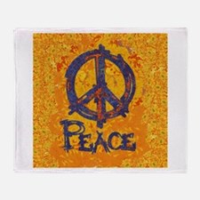 Gustav Klimt Peace Throw Blanket