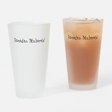 Ramadan Mubarak! Drinking Glass