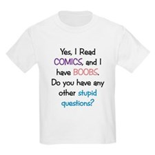 Stupid Questions Kids T-Shirt