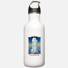 Yellowstone Travel Poster 1 Water Bottle