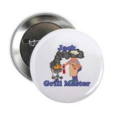 """Grill Master Jack 2.25"""" Button"""