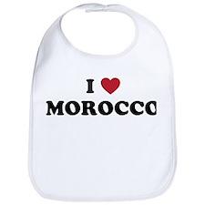 I Love Morocco Bib