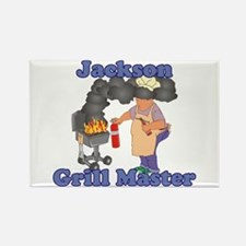 Grill Master Jackson Rectangle Magnet