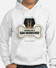 Owned by a Dachshund Hoodie