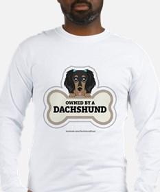 Owned by a Dachshund Long Sleeve T-Shirt
