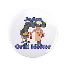 "Grill Master Jaden 3.5"" Button"