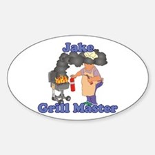 Grill Master Jake Decal