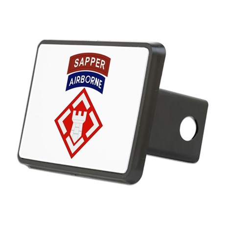 20th Engineer Sapper Rectangular Hitch Cover
