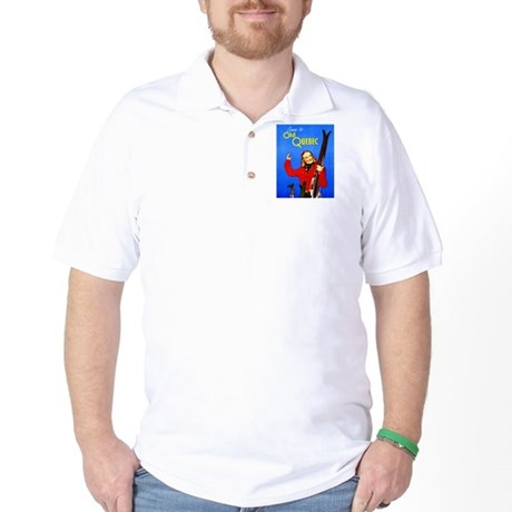 Quebec Travel Poster 1 Golf Shirt
