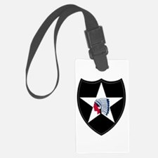 2nd Infantry Luggage Tag