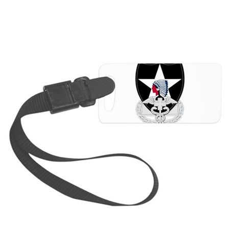 2nd Infantry CFMB Small Luggage Tag