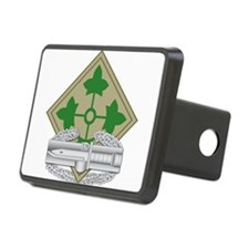 4th Infantry CAB Hitch Cover