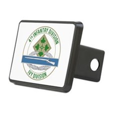 4th Infantry CIB Hitch Cover