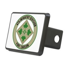 4th Infantry post Hitch Cover