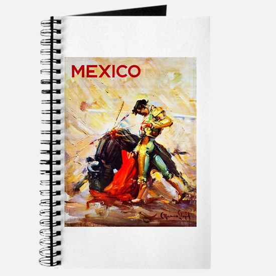 Mexico Travel Poster 2 Journal