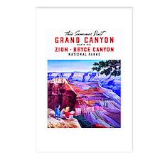 Utah Travel Poster 1 Postcards (Package of 8)