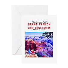 Utah Travel Poster 1 Greeting Card