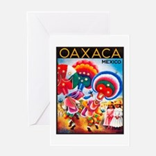 Mexico Travel Poster 5 Greeting Card