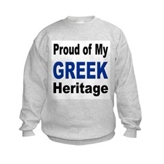 Proud Greek Heritage Sweatshirt
