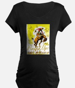 Old West Travel Poster 1 T-Shirt