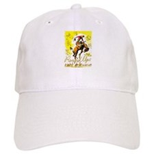 Old West Travel Poster 1 Baseball Cap