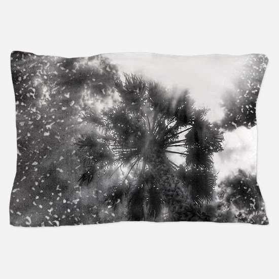 Shining Above In Black Pillow Case