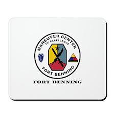 Fort Benning wtih Text Mousepad