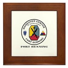 Fort Benning wtih Text Framed Tile