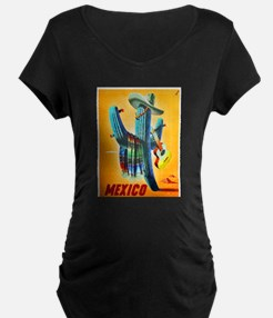 Mexico Travel Poster 10 T-Shirt